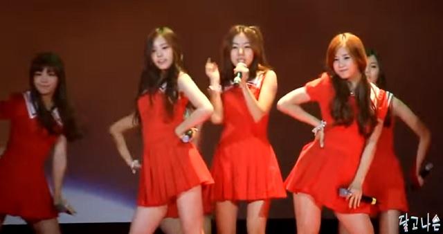 Ukážka z vystúpenia jednej K-popovej juhokórejskej skupiny