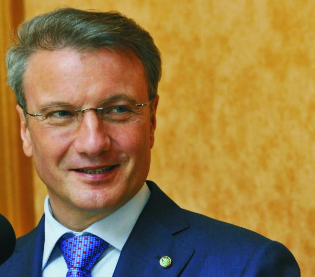 Prezident Sberbank Rusko German Gref