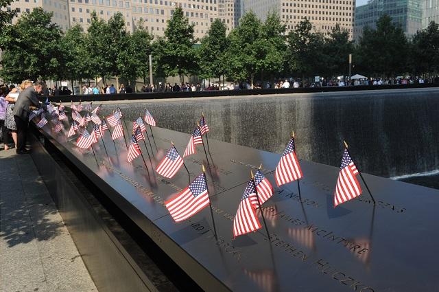 Ilustračné foto:  Pamätník obetí teroristických útokov Svetového obchodného centra