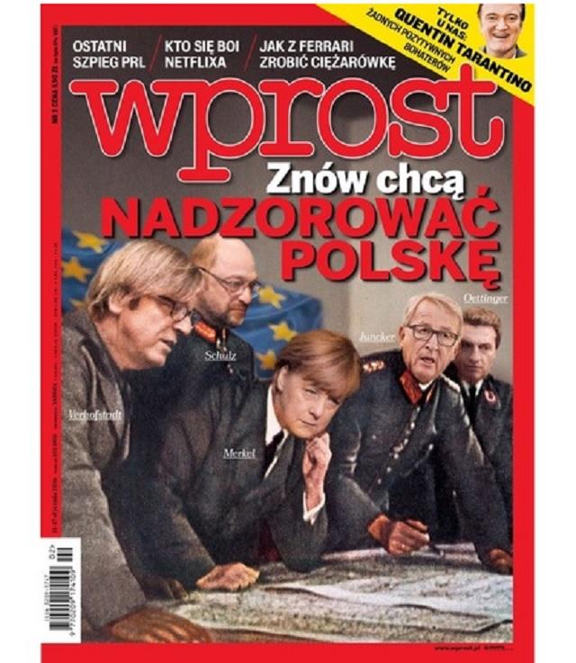 Titulka časopisu Wprost