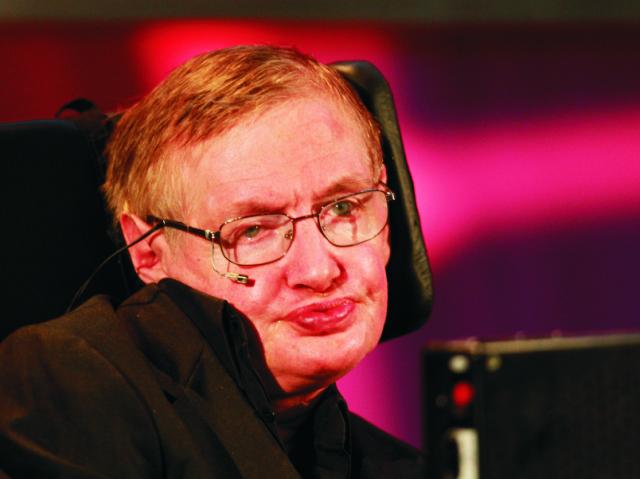Slávny britský teoretický fyzik Stephen Hawking