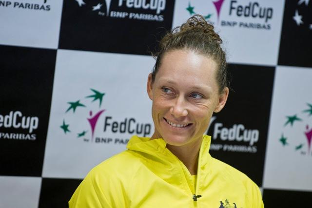 Na snímke austrálska tenistka Samantha Stosurová