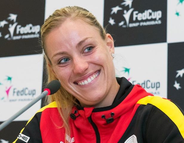 Na snímke nemecká tenistka a víťazka grandslamového turnaja Australian Open 2016 Angelique Kerberová