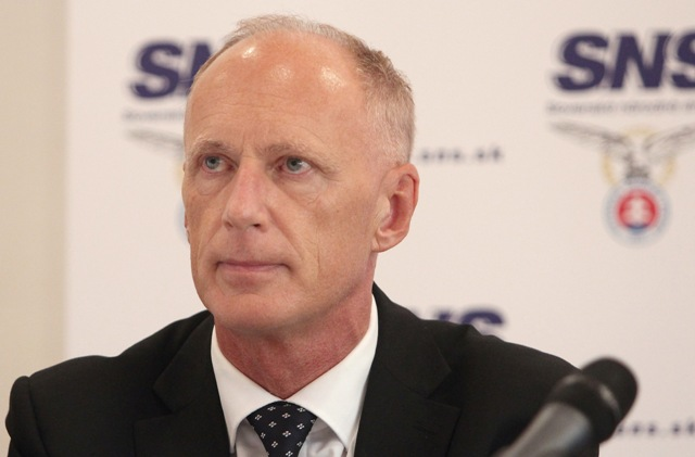 Na snímke prvý podpredseda strany Slovenskej národnej strany (SNS) Jaroslav Paška