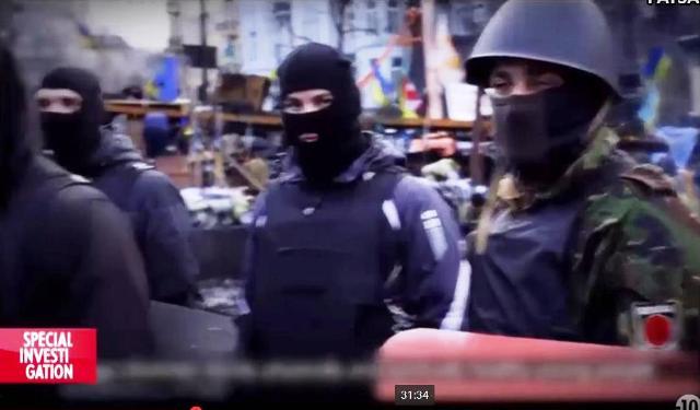 Snímka z dokumentárneho filmu o Majdane a o udalostiach v Odese