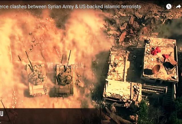Najťažšie a najprudkejšie boje sa v ostatných dňoch konali v meste Homs