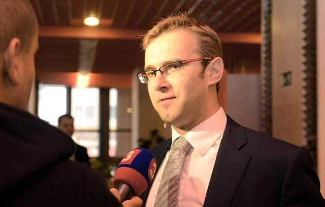 Na snímke exminister obrany Martin Fedor (#Sieť)