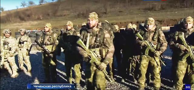 Čečenský prezident navštívil výcvikový tábor príslušníkov čečenských špeciálnych jednotiek