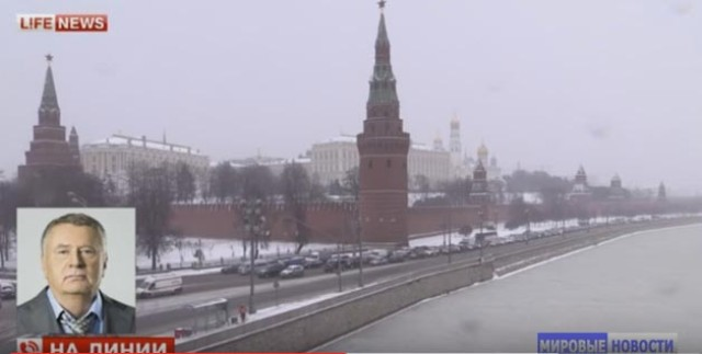 Vladimír Žirinovskij, známy kritik Západu a USA, si ani tento raz nedával servítku pred ústa