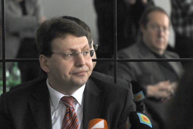Na snímke predseda Svetového združenia Slovákov v zahraničí (SZSZ) Vladimír Skalský