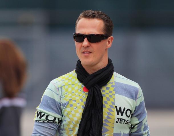 Na snímke Michael Schumacher