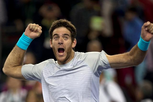 Na snímke argentínsky tenista Juan Martin del Potro