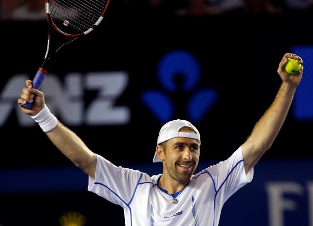 Na snímke nemecký tenista Benjamin Becker