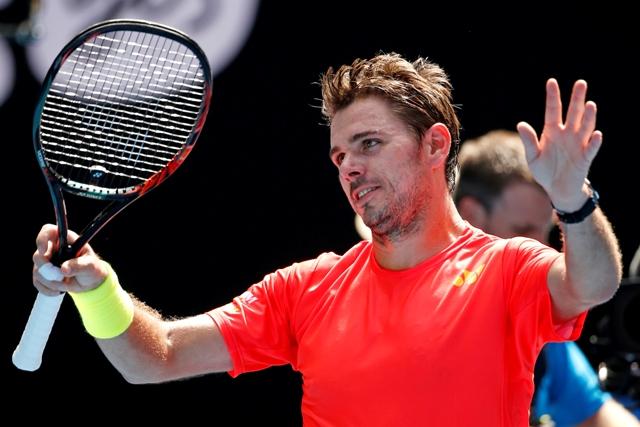 Na snímke švajčiarsky tenista Stan Wawrinka