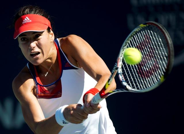 Na snímke rumunská tenistka Sorana Cirsteaová