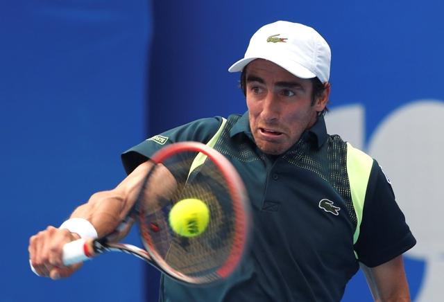 Na snímke uruguajský tenista Pablo Cuevas