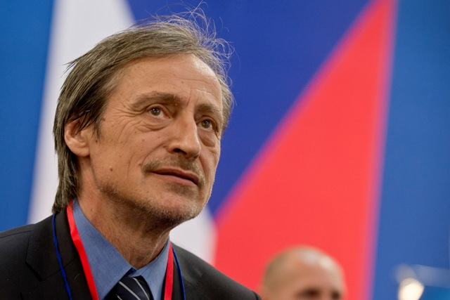 Na snímke minister obrany Českej republiky Martin  Stropnický
