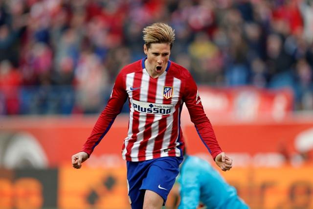 Na snímke útočník Atletica Fernando Torres