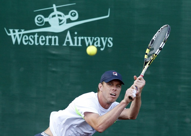 Na snímke americký tenista Sam Querrey