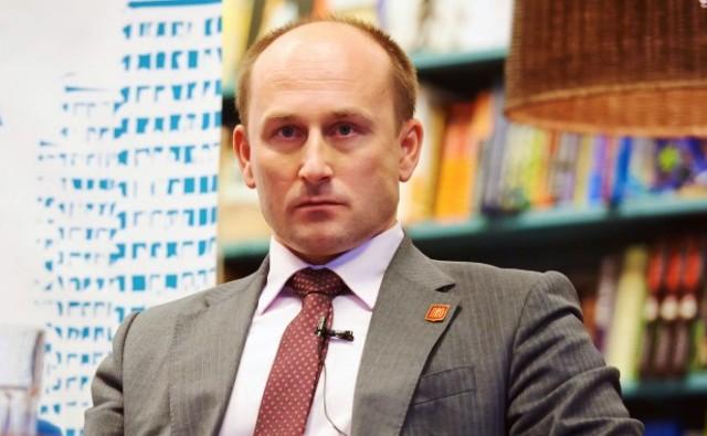 Na snímke ruský ekonóm a politológ Nikolaj Starikov
