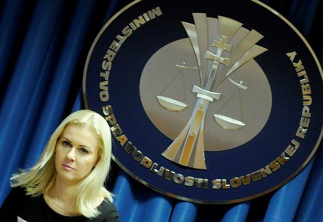 Na snímke štátna tajomníčka Ministerstva spravodlivosti SR Monika Jankovská