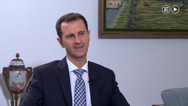 Na videosnímke sýrsky prezident Bašár Asad