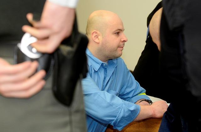 Na snímke obžalovaný Branislav A.
