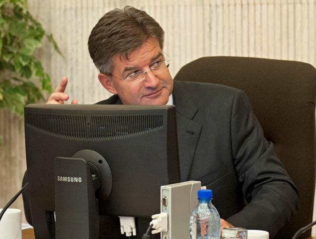 Na snímke podpredseda vlády SR a minister zahraničných vecí a európskych záležitostí SR Miroslav Lajčák