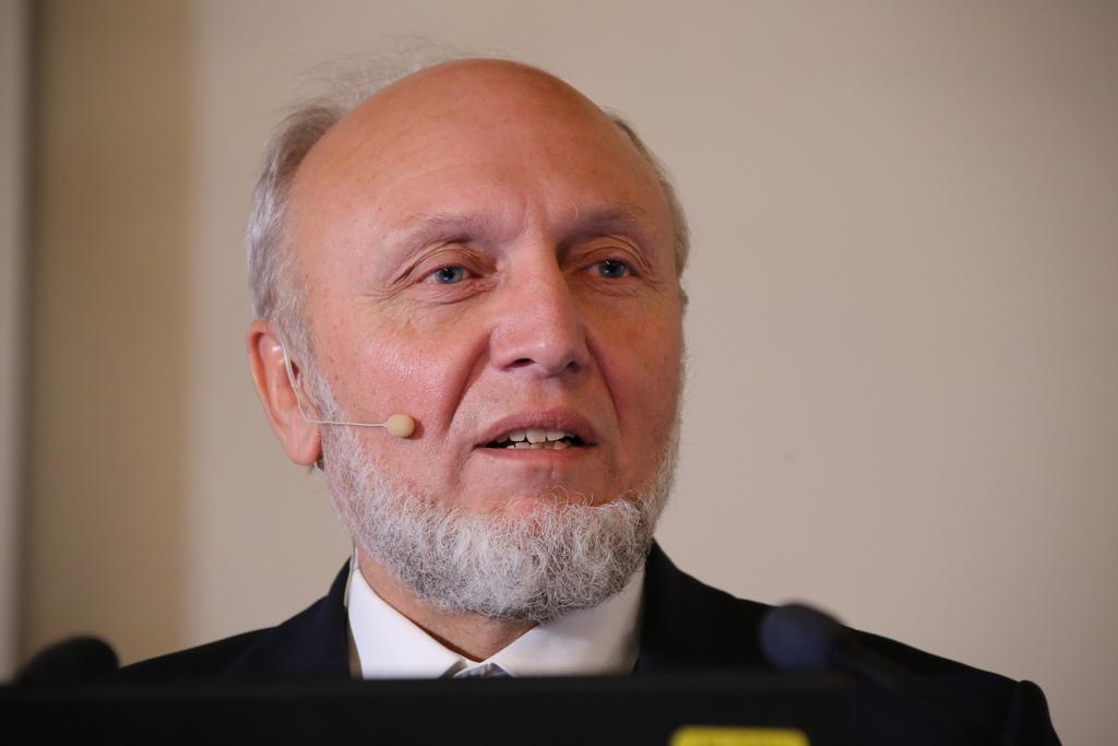 Na snímke nemecký ekonóm Hans-Werner Sinn.