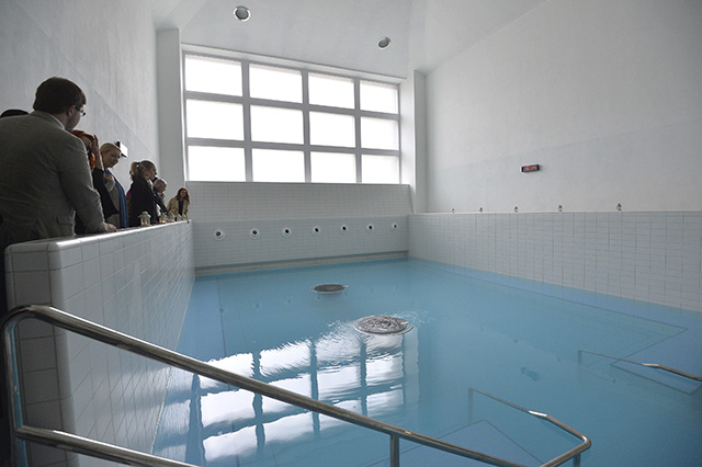 Na snímke kúpele v Trenčianskych Tepliciach.