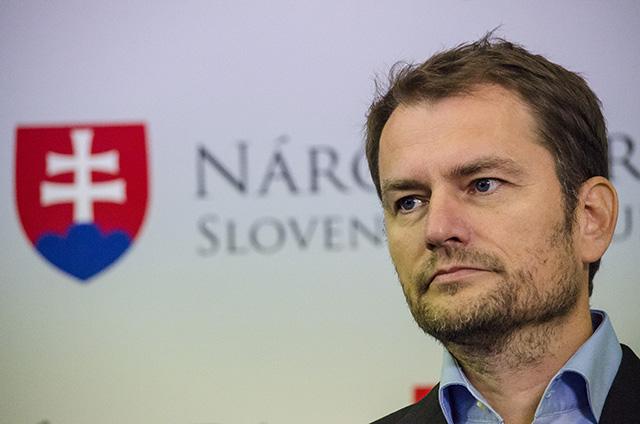 Na snímke predseda hnutia OľaNO Igor Matovič.