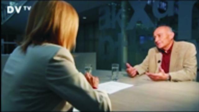 Rozhovor moderátorky  pre Drtinové s doktorem primár Karelom Erbenom o objavení príčiny civilizačných chorôb