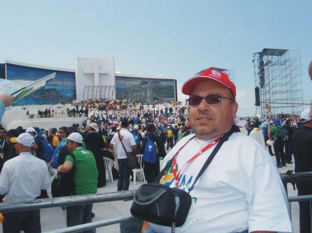 Na snímke kandidát KDH – Ján Miho  z