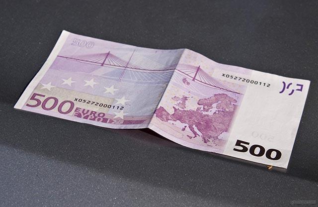 Bill 500 Euro
