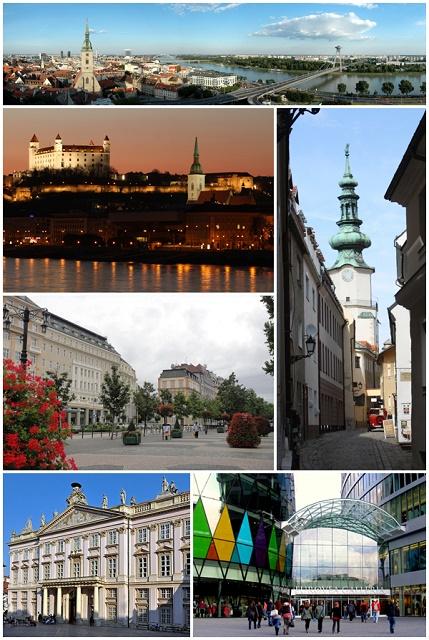 Snímky z Bratislavy