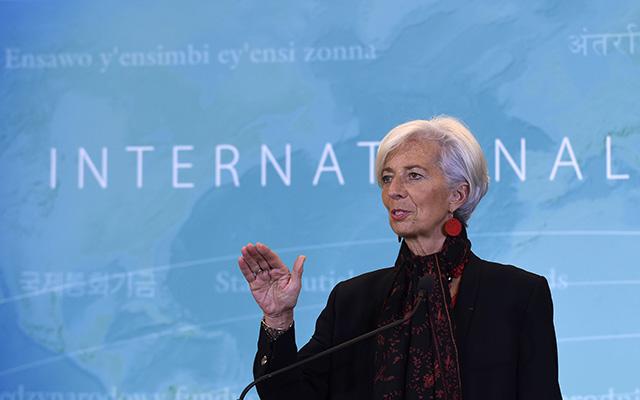 Generálna riaditeľka Medzinárodného menového fondu (MMF) Christine Lagardeová