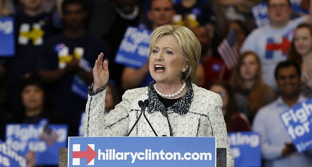 Hillary Clintonová po víťazstve primárok v Južnej Karolíne
