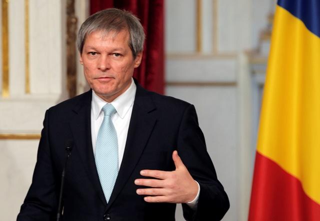 Na snímke rumunský premiér Dacian Ciolos