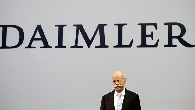 Na snímke výkonný šéf nemeckého koncernu Daimler Dieter Zetsche