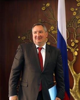 Na snímke ruský vicepremiér Dmitrij Rogozin