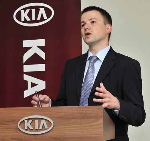 Na snímke hovorca Kia Motors Slovakia Dušan Dvořák