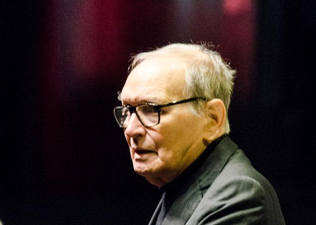Na snímke taliansky hudobný skladateľ Ennio Morricone