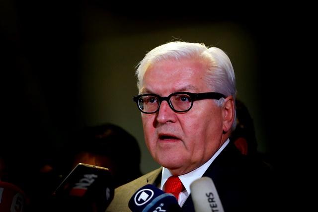 Na snímke šéf nemeckej diplomacie Frank-Walter Steinmeier