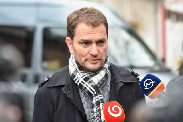 Na snímke líder hnutia OĽaNO Igor Matovič