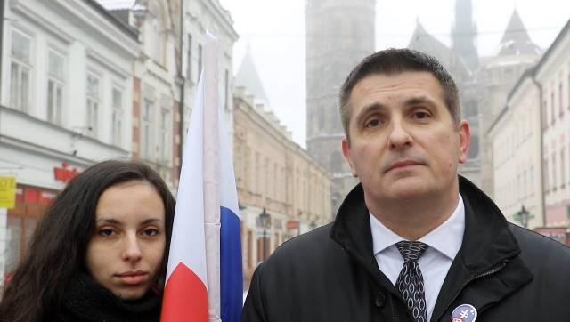 Na snímke líder strany Odvaha Jan Pavliš