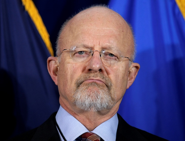 Na snímke riaditeľ amerických tajných služieb James Clapper