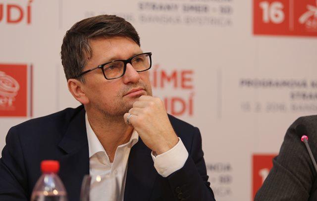 Na snímke šéf volebnej kampane Smeru-SD a podpredseda strany Marek Maďarič