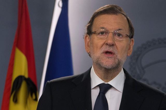 Na snímke španielsky premiér Mariano Rajoy