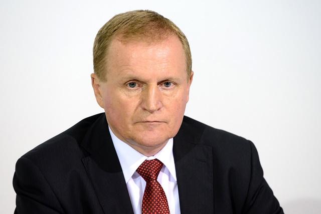 Na snímke Milan Semančík, predseda Slovenskej poľnohospodárskej a potravinárskej komory (SPPK)