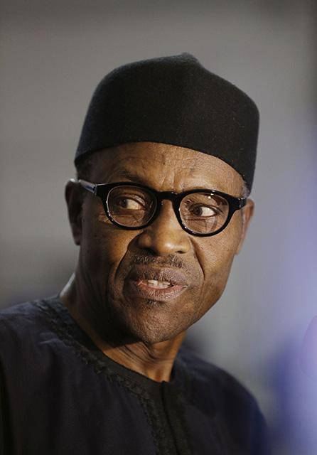 Na snímke prezident Nigérie Muhammadu Buhari.
